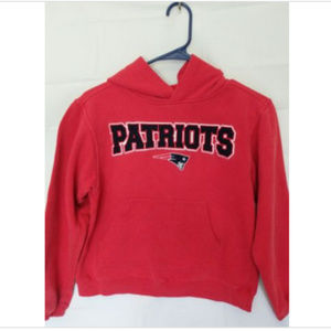 NE Patriots Autographed Hoodie - Youth Medium